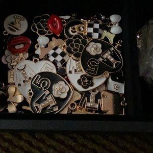 Designer inspired Charm Bracelets